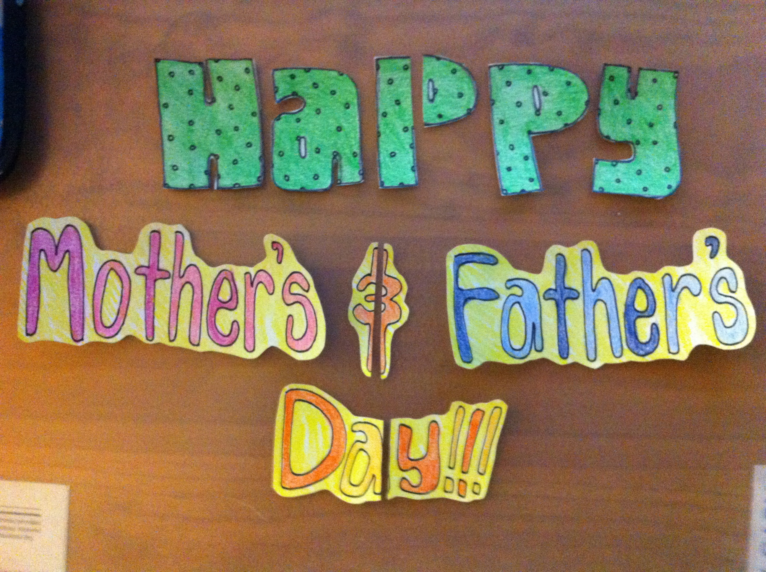 DIY: Making a (Belated) Mother's and Father's Day Card ...