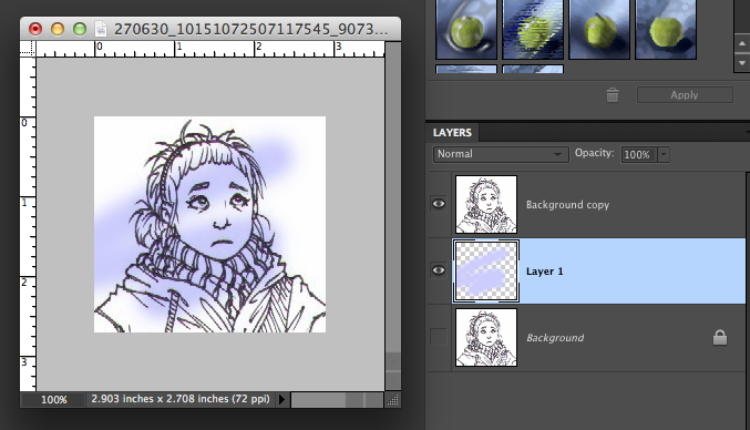 how to change drawing color in photoshop