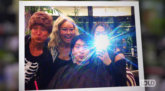 Unchanged. Ajumma wigs at the salon.