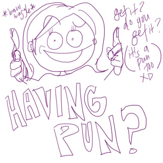 having-pun