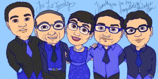 the-Le-family