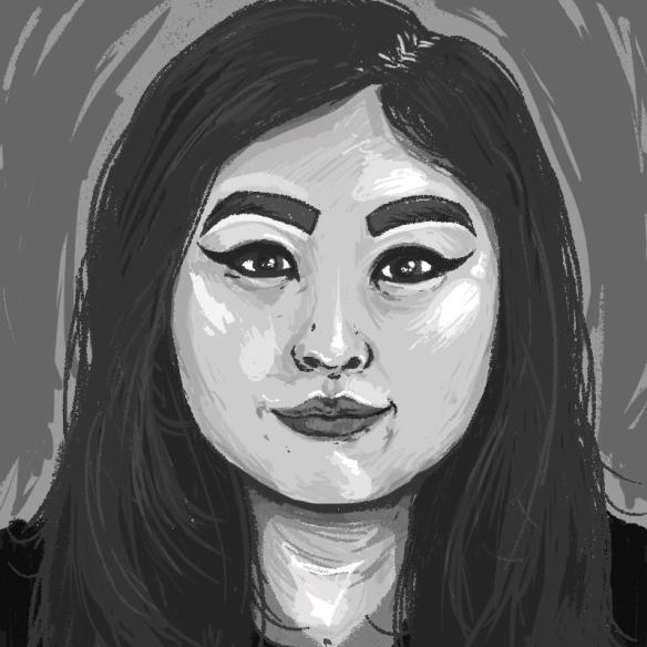 Photoshop Brush Tools Practice, pt  2 | Melodie Miu