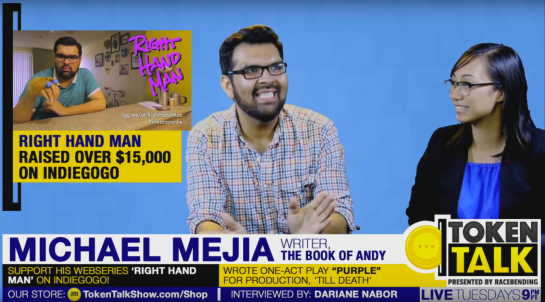 'GUEST INTERVIEW' segment with writer Michael Mejia on August 16, 2016.